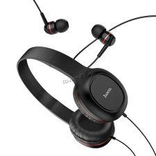 Наушники+микрофон HOCO W24 Enlighten накладные + внутриканальные наушники Купить