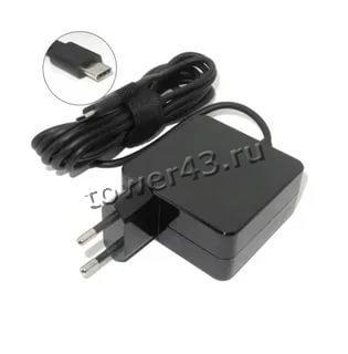 Сетевой адаптер питания для ноутбуков ASUS/Lenovo, Type-C 65W, выход 5В-3A, 9В-3А, 15В-3А, 20В-3,25А