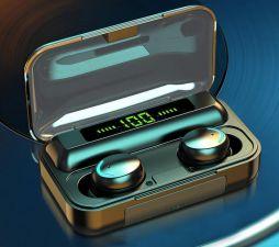 Наушники+микрофон вкладыши VOULAO F9-8, с зарядным боком беспроводные Купить