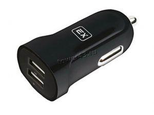 Автомобильное зарядное устройство 2 выхода USB (3.1/3.4A) Exployd EX-Z-576/578, в коробке Купить