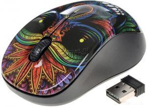 Мышь QUMO Office M41 Totem, 800/1200/1600dpi, беспроводная, 4 кнопки, waterprinting Купить
