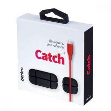 Фиксатор кабелей Perfeo Catch на 4 кабеля 2-8мм, силиконовый Цена