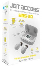 Наушники+микрофон вкладыши Jet ACCESS WBS-30 блютуз 5.1, TWS, 300mAh, упр.кнопкой Цена