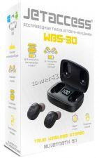 Наушники+микрофон вкладыши Jet ACCESS WBS-30 блютуз 5.1, TWS, 300mAh, упр.кнопкой Вятские Поляны