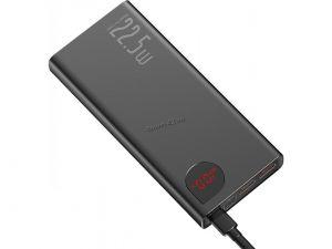 Внешний мобильный аккумулятор Baseus Adaman 20000mAh, дисплей, 22,5Вт, подд. быстрой зарядки, металл Купить