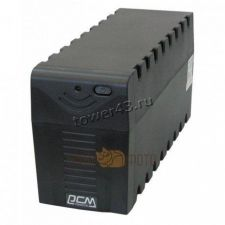 Источник бесперебойного питания Powercom Raptor RPT-600A EURO <600VA, 360W, Black, 3 выхода> Купить