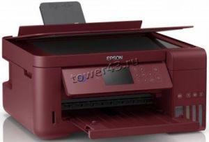 МФУ струйное EPSON L4167 принтер, копир, сканер, СНПЧ, 4 цвета, WiFi, картридер, дисплей, дуплекс Купить