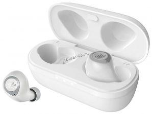Наушники+микрофон вкладыши JBL T100 TWS Pure Bass, BT5.0, беспроводные c зарядным блоком (белые) Купить