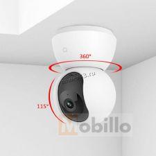 IP камера Xiaomi Mijia WiFi 1296р/2K поворот, детек.движ, голос.связь, ночн видение, скрытый microSD Цена