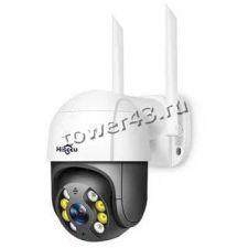 IP камера Hiseeu PTZ WiFi 1080р уличная, поворотная, CCTV, Onvif, ноч.видение, до30м, 130гр, microSD Купить