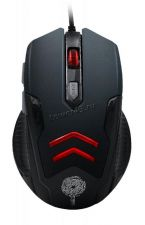 Мышь QUMO Crypt M57, 6кн. игровая, 4цв.подсветка, 1200 /1600 /2400 /3200dpi, USB Купить