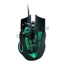 Мышь QUMO Gremlin M37, 6кн. игровая, 4цв.подсветка, 1200 /1600 /2400 /3200dpi, USB Купить