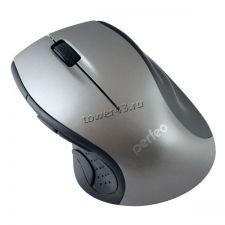 Мышь PERFEO TANGO PF-526-SV беспроводная, серебристо-черная, 5кнопок, 1000dpi Купить