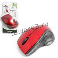 Мышь PERFEO TANGO PF-526-SV беспроводная, серебристо-черная, 5кнопок, 1000dpi Цена