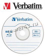 Диск BD-R 25Gb Verbatim 4x Купить