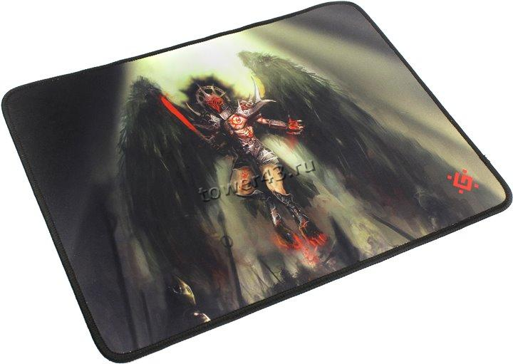 Коврик для мыши Defender игровой Angel of Death M/ Black /Dragon 360x270x3 мм, ткань+резина