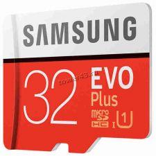 Память micro SDHC 32Gb class10 Samsung EVO Plus, UHS-I U1 95Mb/s с адаптером в боксе (oem) Купить