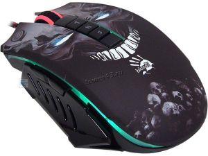 Мышь A4Tech Bloody P85 USB, 5000 dpi, игровая, оптические кнопки и колесико, подсветка Цена