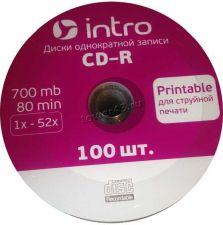 Диск CD-R СМС 700Mb 52x printable Купить