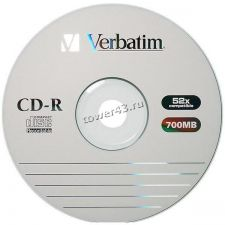 Диск CD-R Verbatim 700Mb 52x Купить