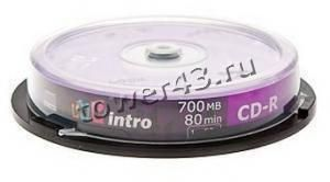 Диск CD-R INTRO 700Mb 52x (10 шт) Купить