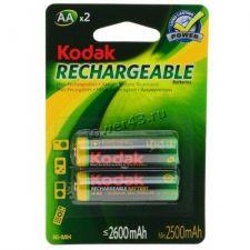Аккумуляторы LR6/AA Kodak, 2600mAh 2шт. Купить
