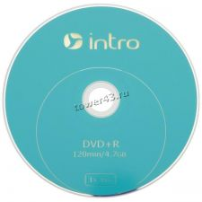 Диск DVD+R 16x 4.7Gb Intro Купить