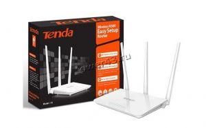 Маршрутизатор (роутер) беспроводной TENDA F3 N300 802.11n, до300Мбит/с, 3вн антенны, 4х10/100Мбит/с Купить