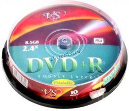 Диск DVD+R 8x 8.5Gb MIREX (двухслойный) Купить