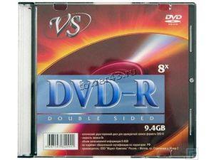Диск DVD-R 8x 9.4Gb VS Slim (двухсторонний) Купить
