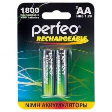 Аккумуляторы AA 1800mAh Perfeo, 2шт. Купить