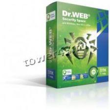 Антивирус Dr.Web Secury Space для Windows на 3ПК на 1год +акция Купить
