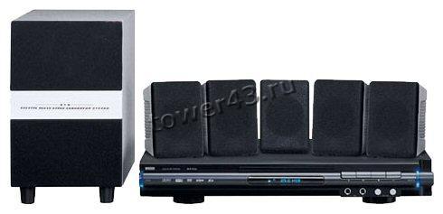 Домашний кинотеатр Mystery MHT-635U (DVD-плеер с USB, CartReader, колонки 5.1, 140Вт, FM 80станций)