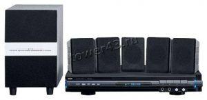 Домашний кинотеатр Mystery MHT-635U (DVD-плеер с USB, CartReader, колонки 5.1, 140Вт, FM 80станций) Купить