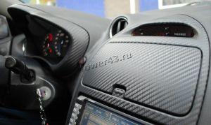 Пленка самоклейка с 3D-рисунком для оклейки торпеды, панели и т.д.30х127см (цвет в ассортменте) Цена