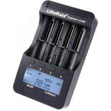 Зарядное устройство LiitoKala Lii-500 профессиональное (на 4АКБ, адаптер 220В, адаптер 12В, дисплей) Купить