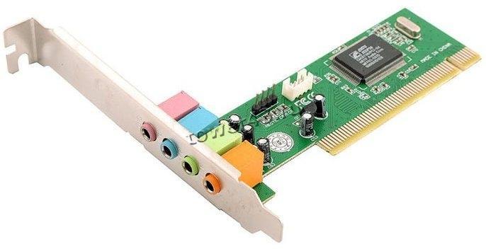 Звуковая карта CMI8738 4-канальная PCI