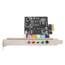 Звуковая карта CMI8738 6-канальная PCI-E Цена
