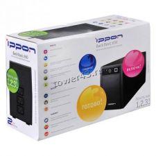 Иcточник бесперебойного питания IPPON Back Basic 650S Euro 360Вт 650ВА черный Цены