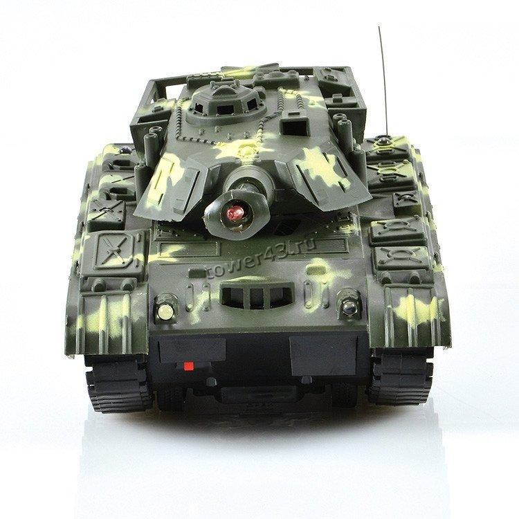 """Игрушка Танк Mioshi Army """"МТ-72"""" на радиоупр. (26 см, движение 360°,  свет, звук, аккум., батар.)"""