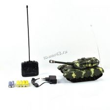 """Игрушка Танк Mioshi Army """"МТ-72"""" на радиоупр. (26 см, движение 360°,  свет, звук, аккум., батар.) Вятские Поляны"""