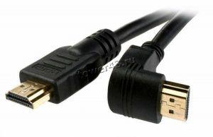 Кабель для монитора HDMI (19pin) -> HDMI (19pin), 1,8м. угловой разъем 90гр Купить