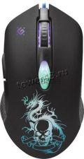 Мышь Defender SkyDragon GM-090L подсветка цв 6кн. (игровая) (чёрный) +коврик Купить
