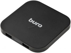 Зарядное устройство беспроводное BURO Q8 (2 порта USB), выходной ток 1А, стандарт Qi, черное Купить