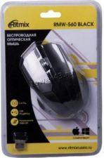 Мышь RITMIX RMW-560, 1000dpi, 2 кнопки, USB, цвет в ассортименте, беспроводная Купить
