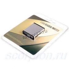 Картридер 3Q CRM-019 ext aluminium SD/MMC/MS/XD USB2.0 Купить