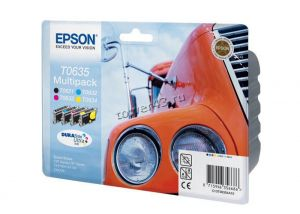 Картридж EPSON C13T06354A black +cyan +magenta +yellow for Stylus C67/C87, CX3700/CX4100 оригинал Купить