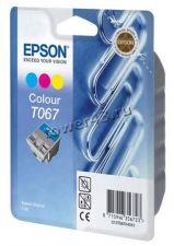 Картридж EPSON T067140 (цветной) для Epson Stylus C48 оригинальный oem Купить