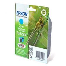 Картридж EPSON T08224A голубой оригинальный Купить