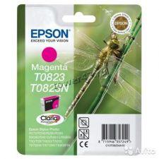 Картридж EPSON T08234A пурпурный оригинальный Купить